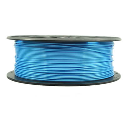 silk pla Blue filament