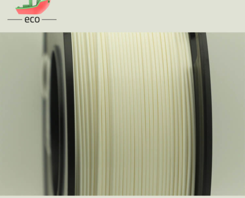 Flame retardant ABS filament white 1
