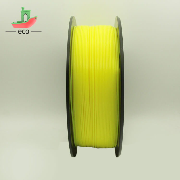 Tpu filament yellow 1