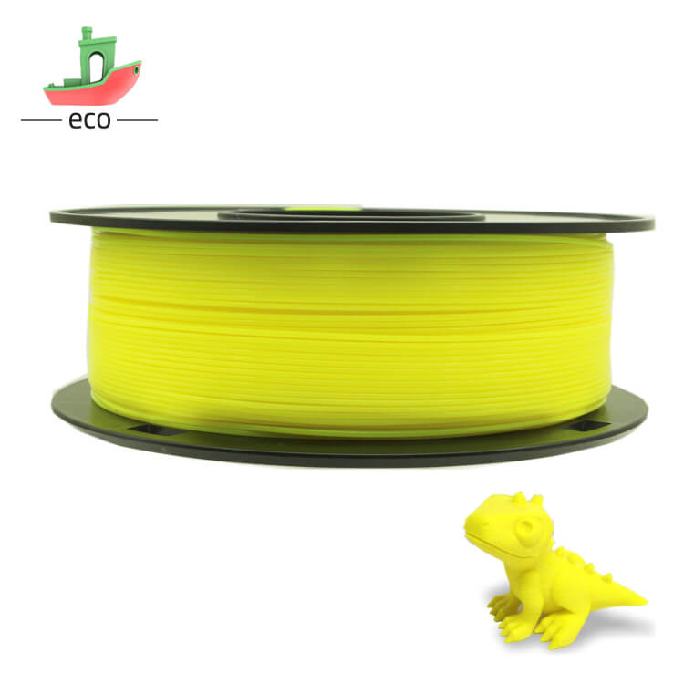 Tpu filament yellow 3