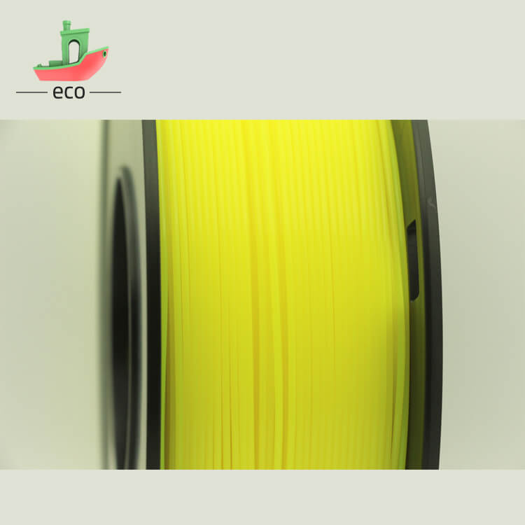 Tpu filament yellow 5