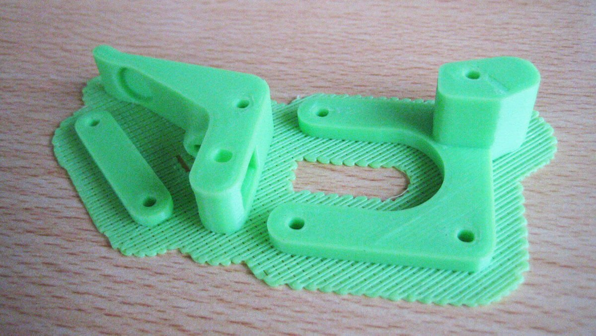 raft in 3d printing